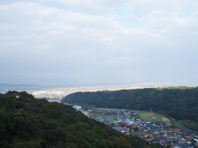 祐徳稲荷神社奥の院からの眺め