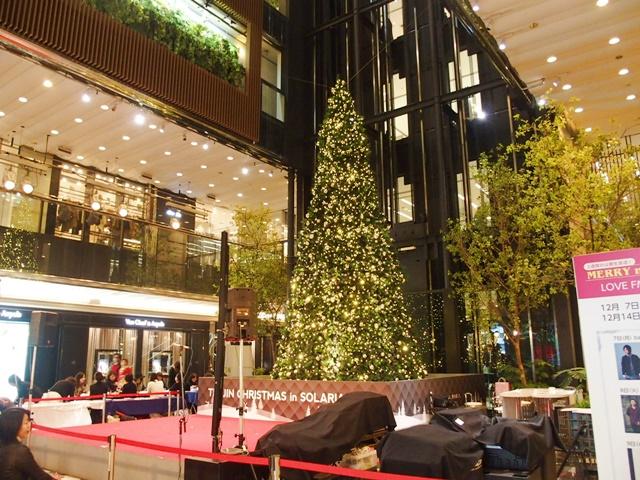 ソラリアプラザ2015クリスマスツリー
