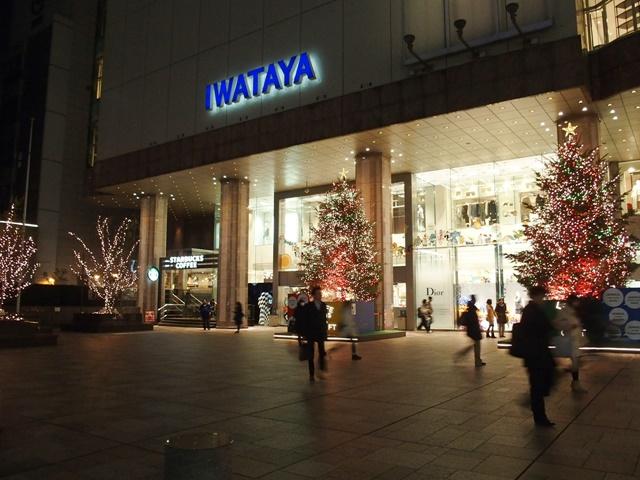 天神クリスマス2015岩田屋