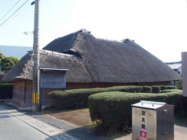 「山口家住宅」江戸時代末期の民家。佐賀と福岡の一部にだけ見られる珍しい建物。