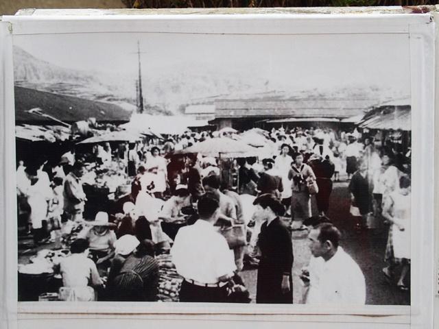 広場マーケット古写真