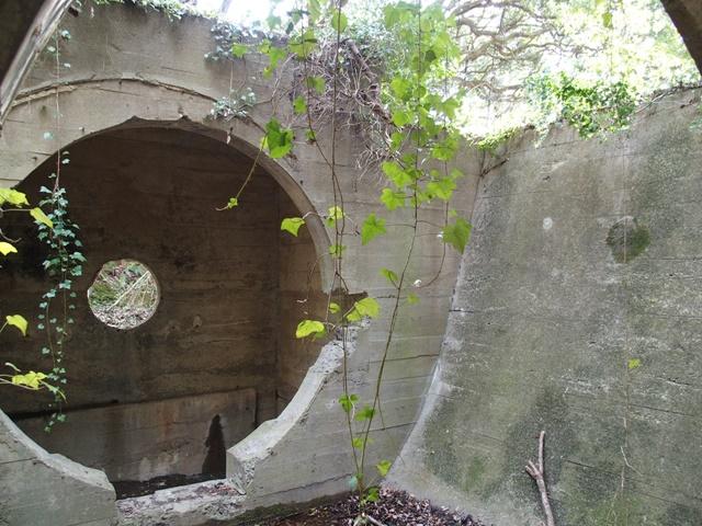 「杵島炭鉱第4坑の通風坑跡」昭和の街並みを残す佐賀大町町にある炭鉱遺構