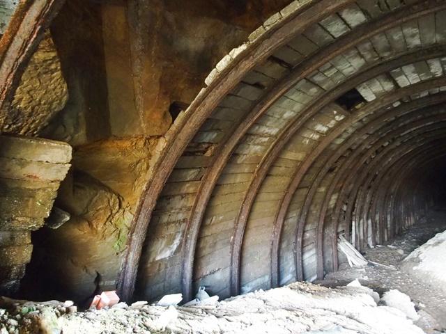 杵島炭鉱鉄道トンネル13