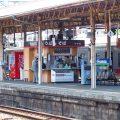 「鳥栖駅」で名物【かしわうどん】ランチ!明治時代のレールで出来た駅はレトロな雰囲気満点です。