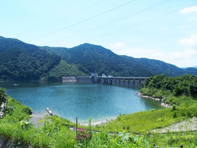 嘉瀬川ダムトップ