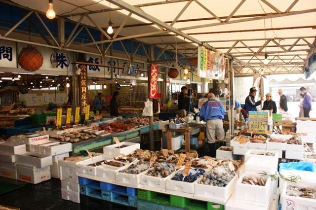 大洗の海鮮市場
