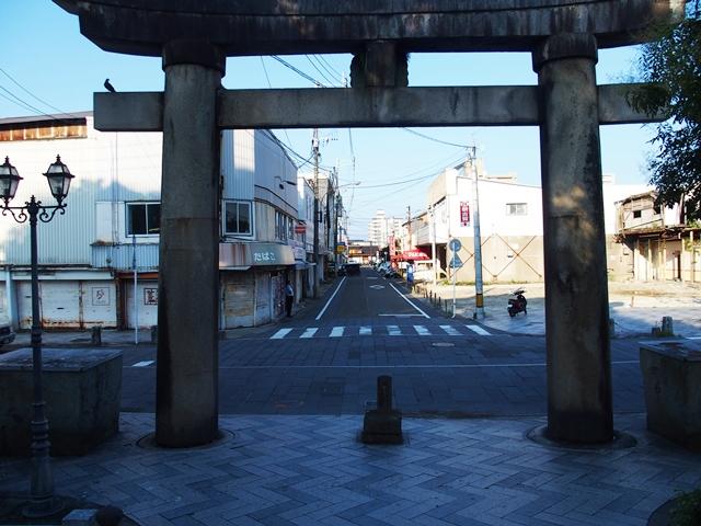 松原神社参道1