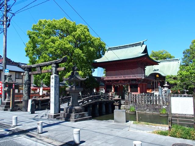 与賀神社参道1